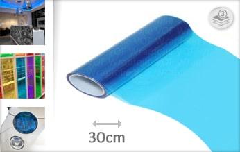 10 mtr Blauw tint folie