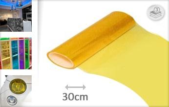 10 mtr Geel tint folie
