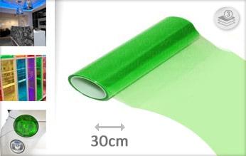 10 mtr Groen tint folie