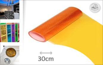 10 mtr Oranje tint folie