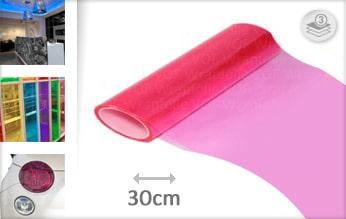 10 mtr Roze tint folie