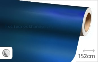 20 mtr Mat chroom blauw folie