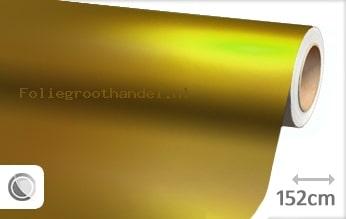 20 mtr Mat chroom geel folie