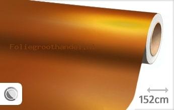 20 mtr Mat chroom oranje folie