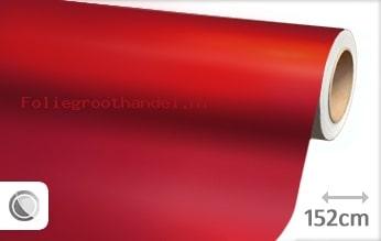 20 mtr Mat chroom rood folie