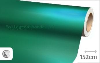20 mtr Mat chroom turquoise folie