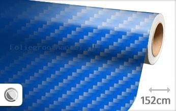 30 mtr Blauw 2D carbon folie