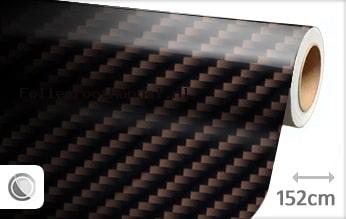 30 mtr Bruin 2D carbon folie