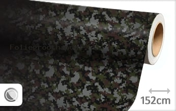 30 mtr Camouflage digitaal folie