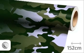 30 mtr Camouflage groen folie