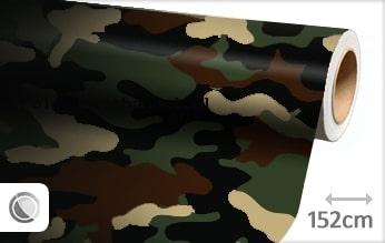 30 mtr Camouflage leger folie