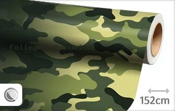 30 mtr Camouflage oerwoud folie