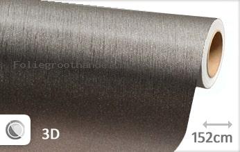 30 mtr Geborsteld aluminium antraciet folie