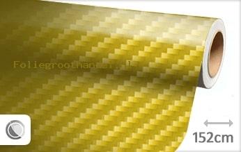 30 mtr Geel 2D carbon folie