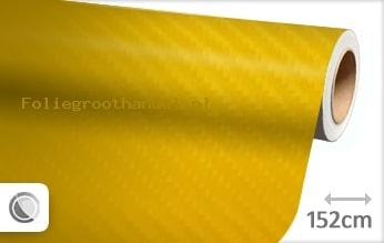 30 mtr Geel 4D carbon folie