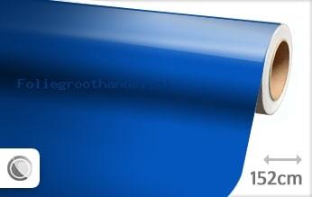 30 mtr Glans blauw folie