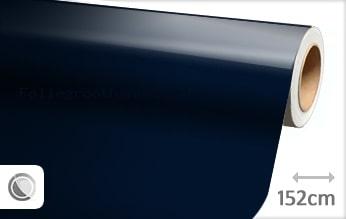 30 mtr Glans donkerblauw folie