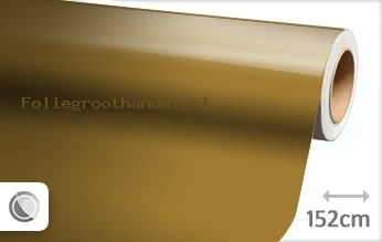 20 mtr Glans goud folie
