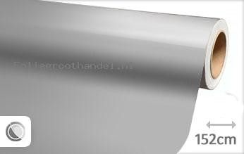 30 mtr Glans grijs folie