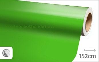 30 mtr Glans groen folie