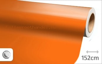 30 mtr Glans oranje folie