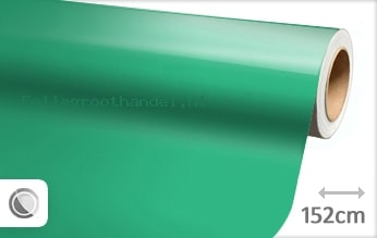 30 mtr Glans turquoise folie