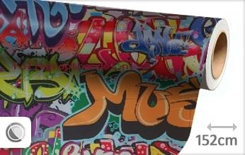 30 mtr Graffiti folie