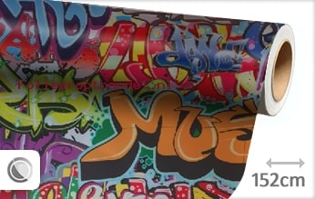 30 mtr Graffiti folie
