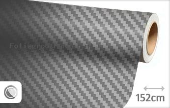 30 mtr Grijs 3D carbon folie