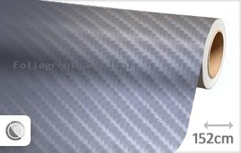 30 mtr Grijs 4D carbon folie