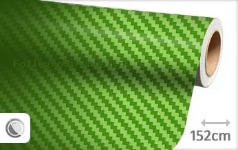 30 mtr Groen 3D carbon folie