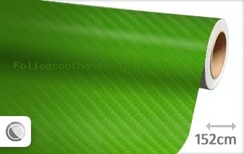 30 mtr Groen 4D carbon folie