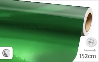 30 mtr Groen chroom folie