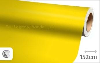 30 mtr Mat geel folie