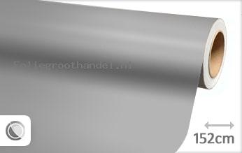 30 mtr Mat zilver folie