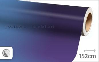 30 mtr Mat kameleon paars blauw folie