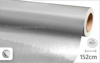 30 mtr Zilver chroom folie
